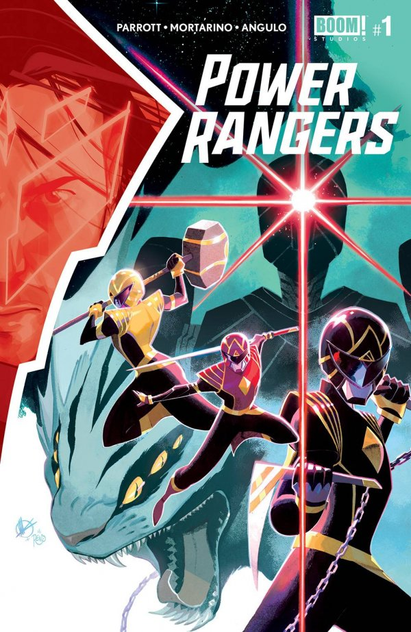 POWER RANGERS #1 COVER A SCALERA