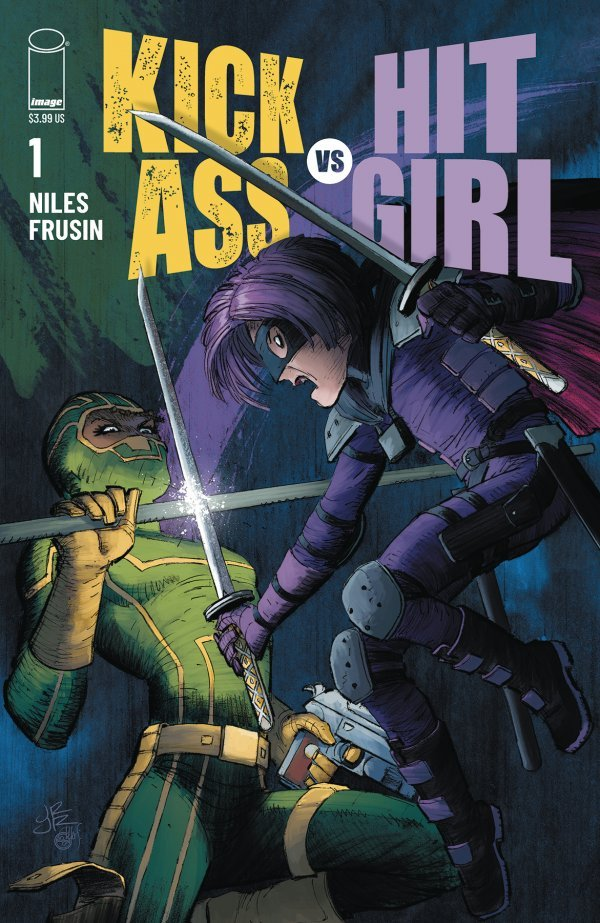 KICK-ASS VS HIT-GIRL #1 (OF 5) COVER A ROMITA JR