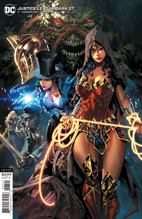 JUSTICE LEAGUE DARK #27 COVER B KAEL NGU VARIANT