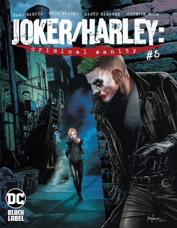 JOKER HARLEY CRIMINAL SANITY #5 (OF 9) COVER B MICO SUAYAN VARIANT
