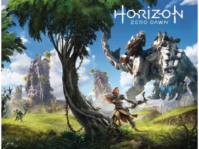 HORIZON ZERO DAWN #4 COVER B GAME ART WRAP