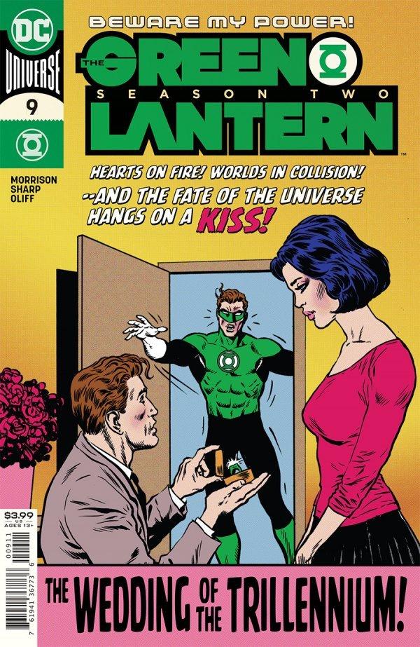GREEN LANTERN SEASON 2 #9 (OF 12) COVER A LIAM SHARP