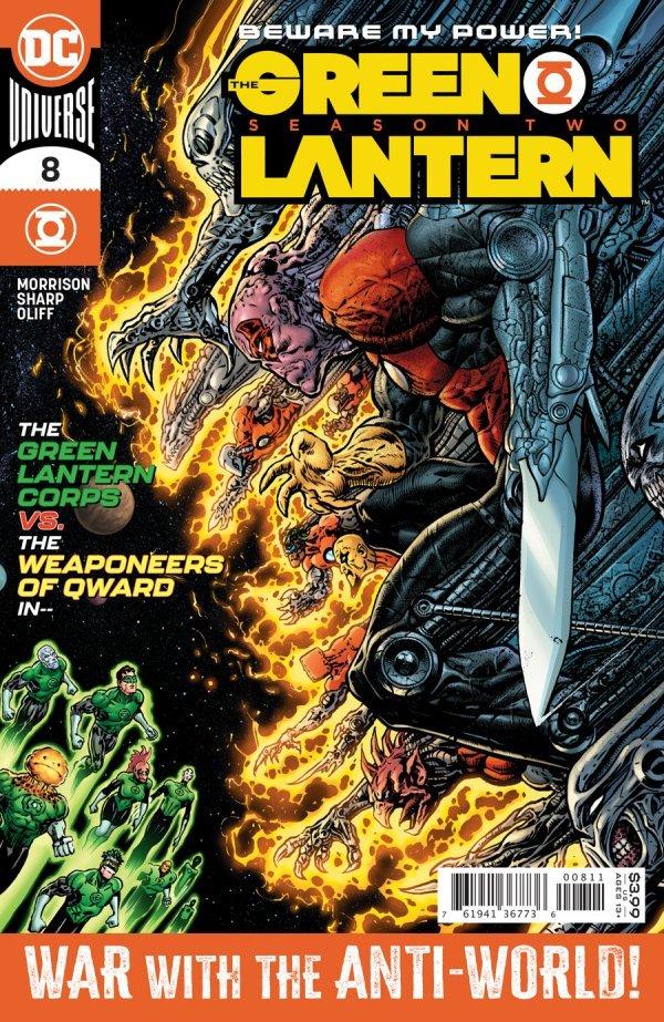 GREEN LANTERN SEASON 2 #8 (OF 12) COVER A LIAM SHARP