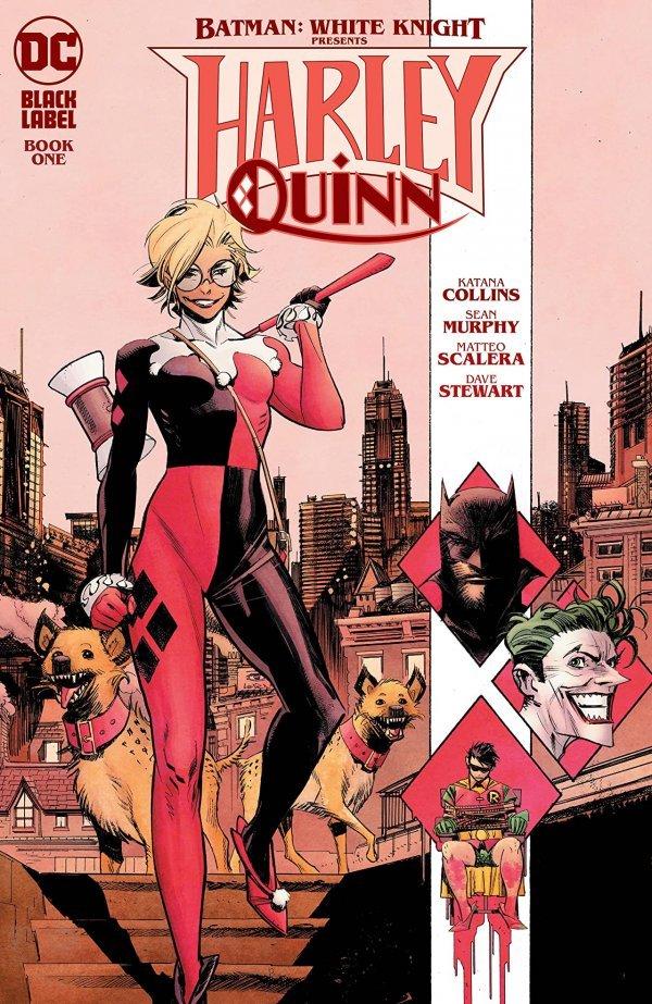 BATMAN WHITE KNIGHT PRESENTS HARLEY QUINN #1 (OF 6) COVER A SEAN MURPHY
