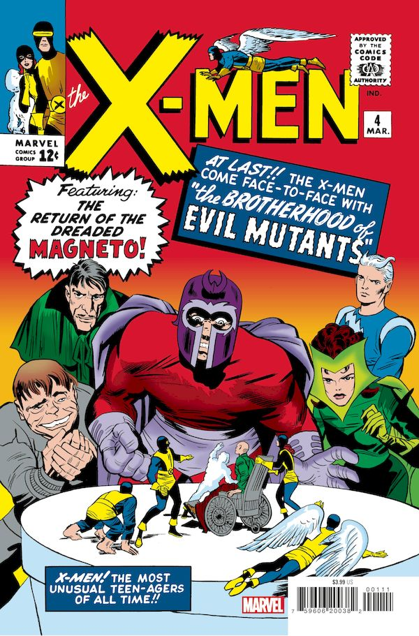 X-MEN #4 FACSIMILE EDITION