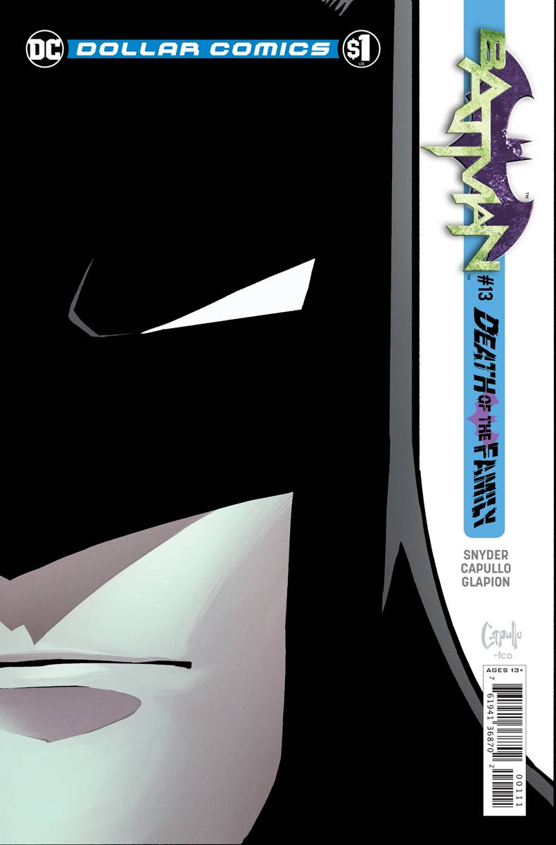 DOLLAR COMICS BATMAN #13 2013