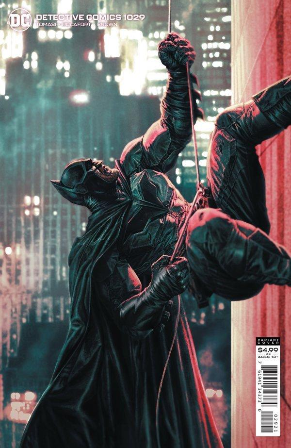 DETECTIVE COMICS #1029 COVER B LEE BERMEJO CARD STOCK VARIANT