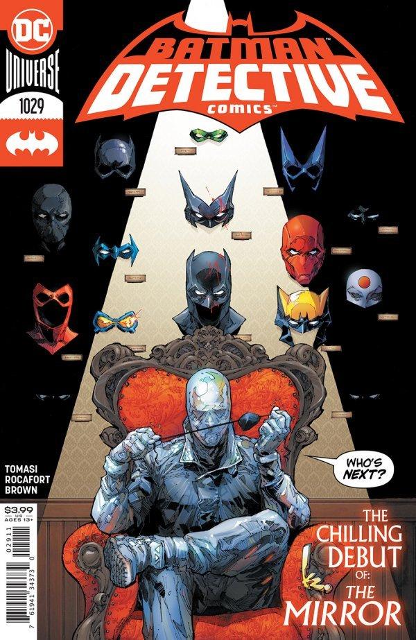 DETECTIVE COMICS #1029 COVER A KENNETH ROCAFORT