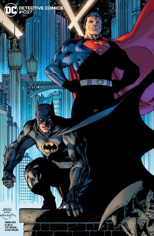 DETECTIVE COMICS #1027 COVER E JIM LEE BATMAN TBD VARIANT