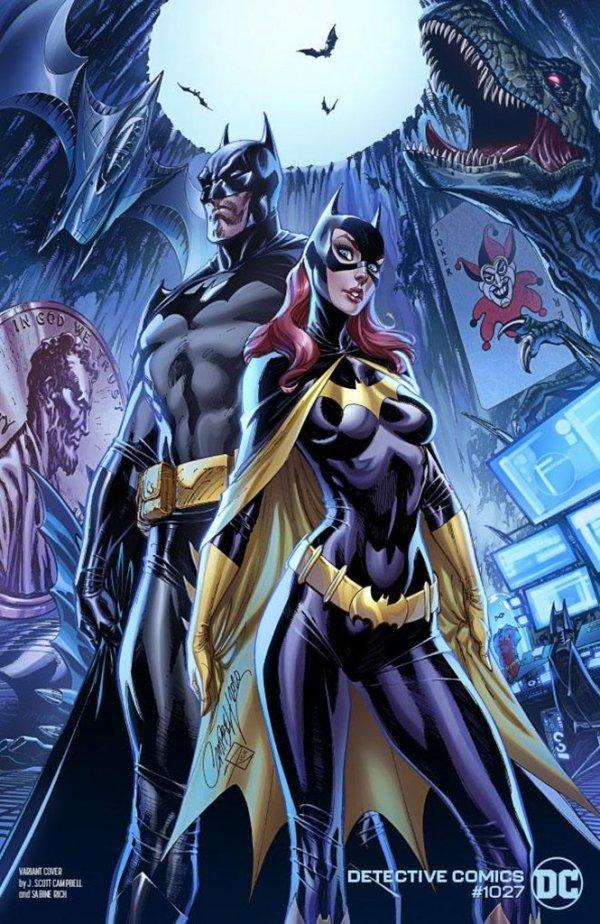 DETECTIVE COMICS #1027 COVER C J SCOTT CAMPBELL BATMAN BATGIRL VARIANT