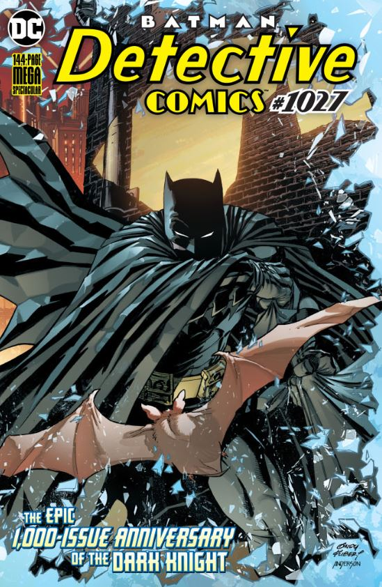 DETECTIVE COMICS #1027 COVER A ANDY KUBERT WRAPAROUND