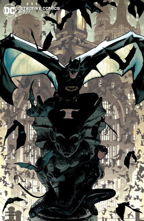 DETECTIVE COMICS #1027 COVER J ADAM HUGHES BATMAN CATWOMAN VARIANT