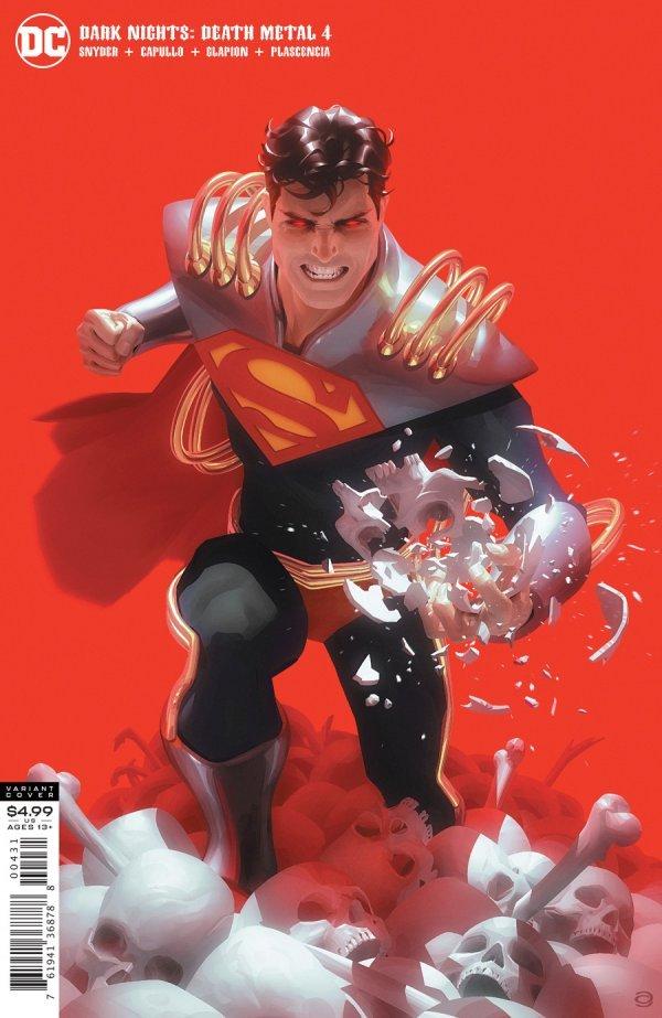 DARK NIGHTS DEATH METAL #4 (OF 7) COVER C ALEX GARNER SUPERBOY-PRIME VARIANT