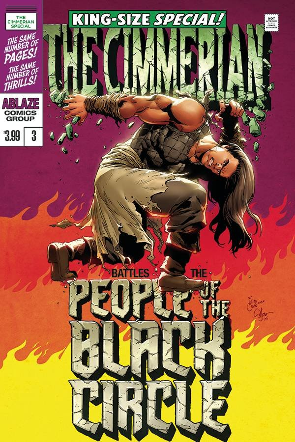 CIMMERIAN PEOPLE OF BLACK CIRCLE #3 COVER D CASAS HULK HOMAGE