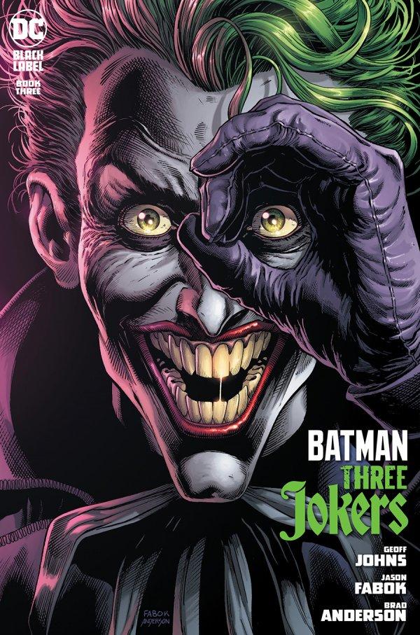 BATMAN THREE JOKERS #3 (OF 3) COVER A JASON FABOK JOKER