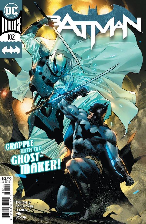 BATMAN #102 COVER A JORGE JIMENEZ