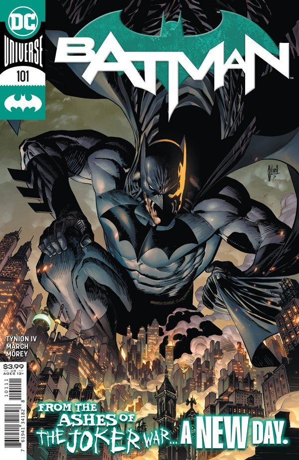 BATMAN #101 COVER A GUILLEM MARCH