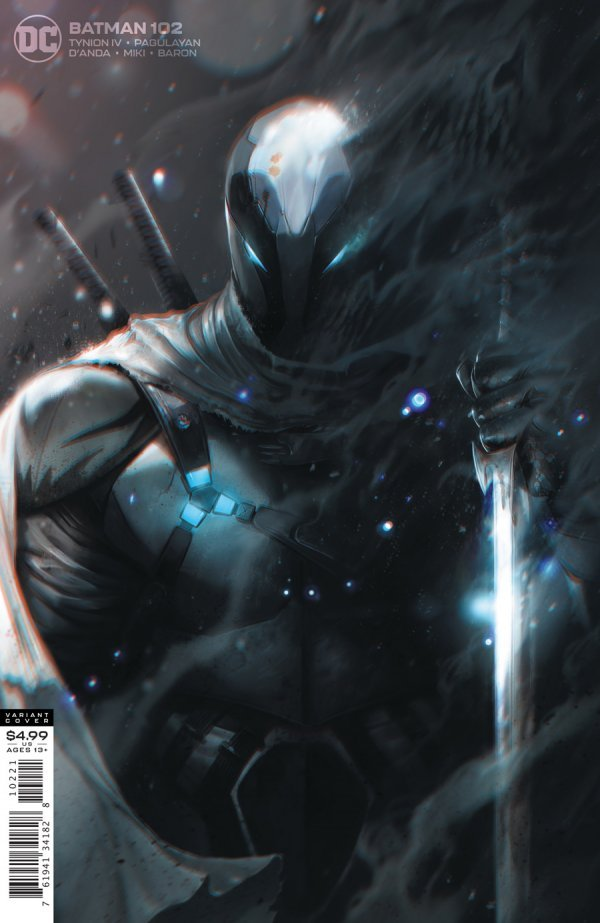 BATMAN #102 COVER B FRANCESCO MATTINA CARD STOCK VARIANT