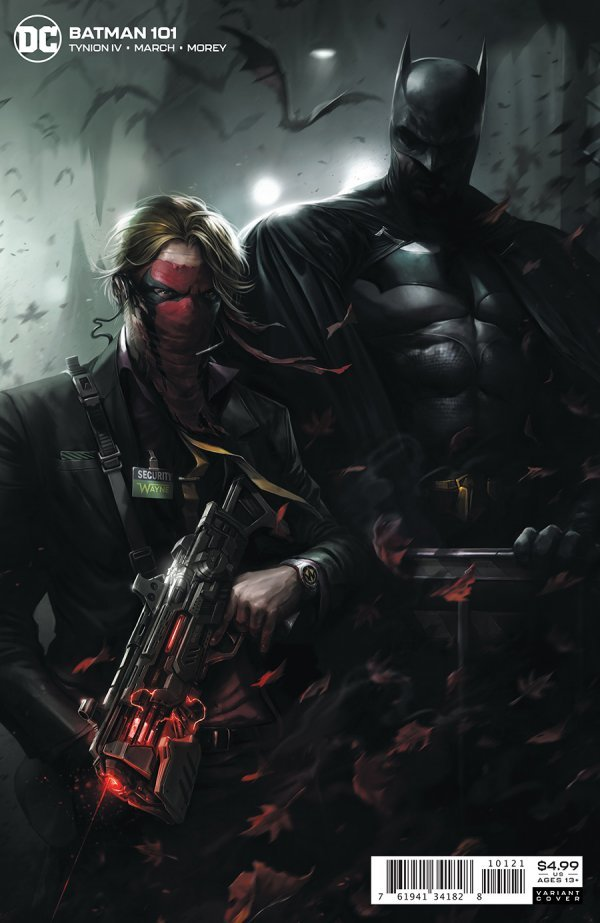 BATMAN #101 COVER B FRANCESCO MATTINA CARD STOCK VARIANT