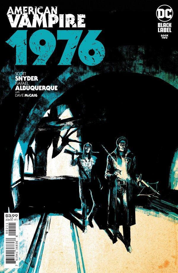 AMERICAN VAMPIRE 1976 #2 (OF 9) COVER A RAFAEL ALBUQUERQUE