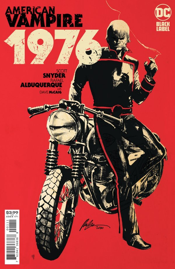 AMERICAN VAMPIRE 1976 #1 (OF 9) COVER A RAFAEL ALBUQUERQUE