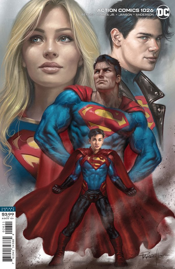ACTION COMICS #1026 COVER B LUCIO PARRILLO VARIANT