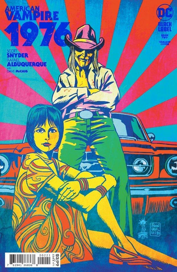 AMERICAN VAMPIRE 1976 #2 (OF 9) COVER B