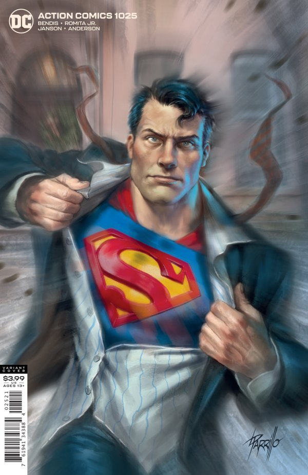 ACTION COMICS #1025 COVER B LUCIO PARRILLO VARIANT