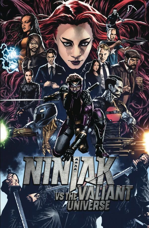 NINJAK VS. THE VALIANT UNIVERSE #1 - #4 SET