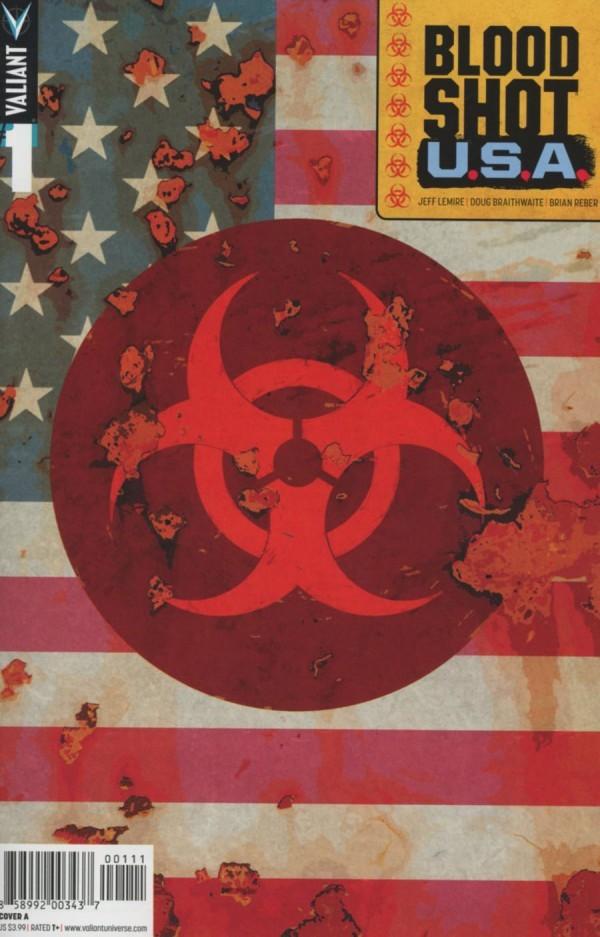 BLOODSHOT U.S.A. #1 - #4 SET