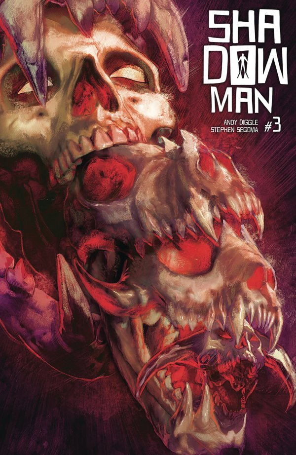 SHADOWMAN #3 COVER B GUEDES