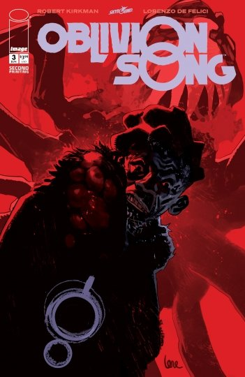 OBLIVION SONG #3 2ND PRINTING