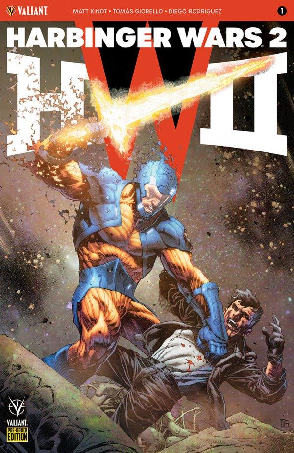 HARBINGER WARS 2 #1 COVER G PRE-ORDER EDITION GIORELLO