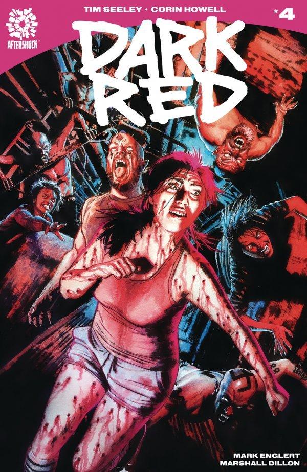 DARK RED #4