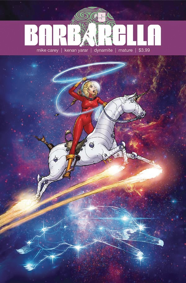 BARBARELLA #5 COVER E YARAR EXCLUSIVE SUBSCRIPTION VARIANT