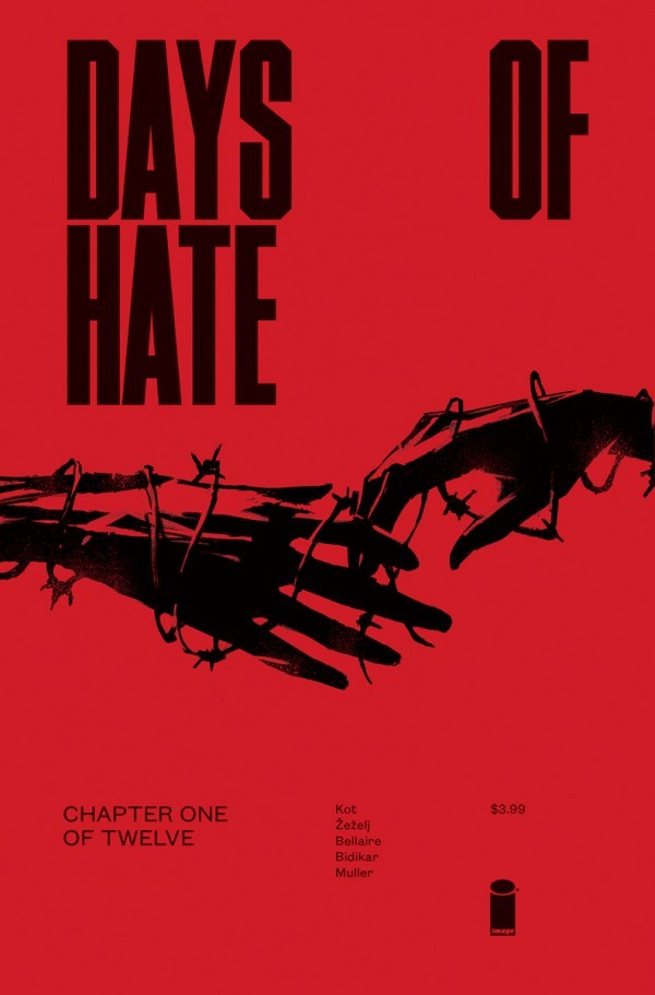 DAYS OF HATE #1 - #5 SET