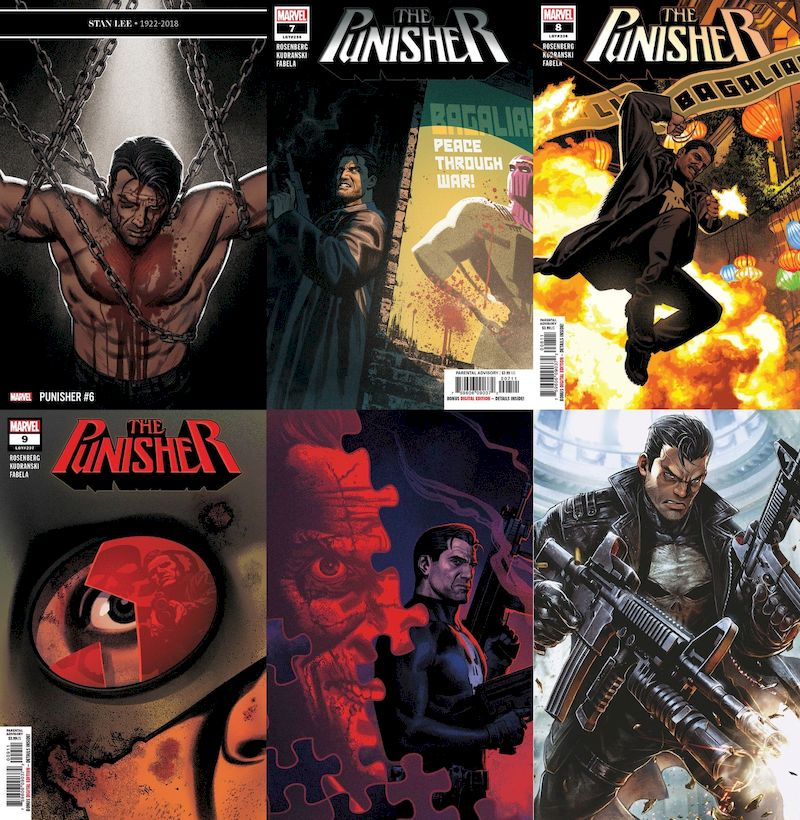 PUNISHER #6 - #11 SET - War in Bagalia (6 of 6)