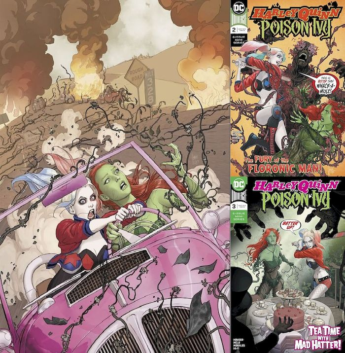 HARLEY QUINN & POISON IVY #1 - #3 (OF 6) SET