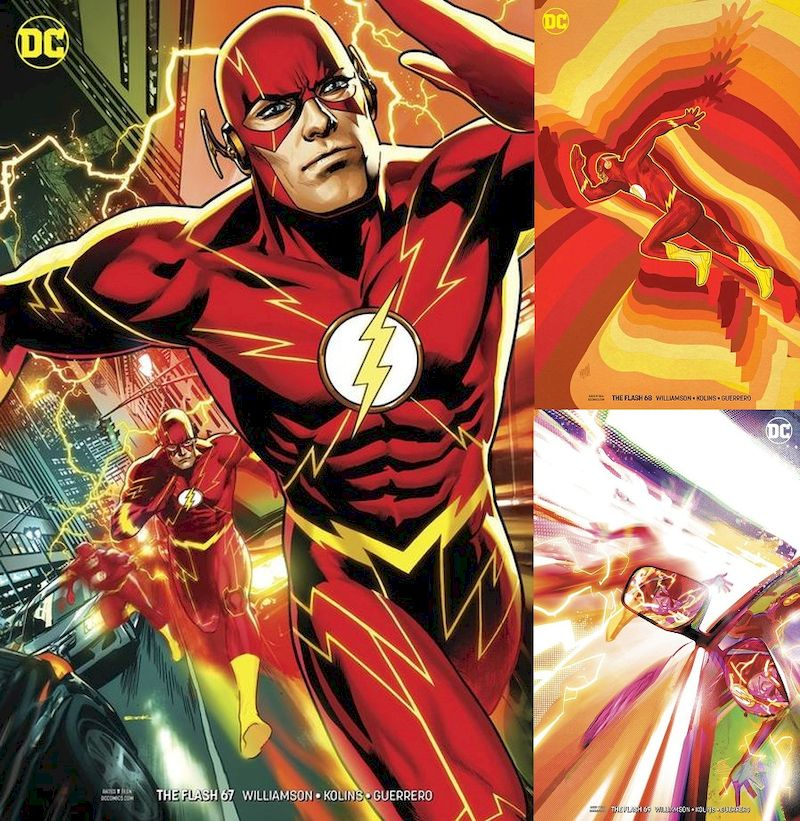 FLASH #67 - #69 VARIANT SET - The Greatest Trick of All (3 of 3)