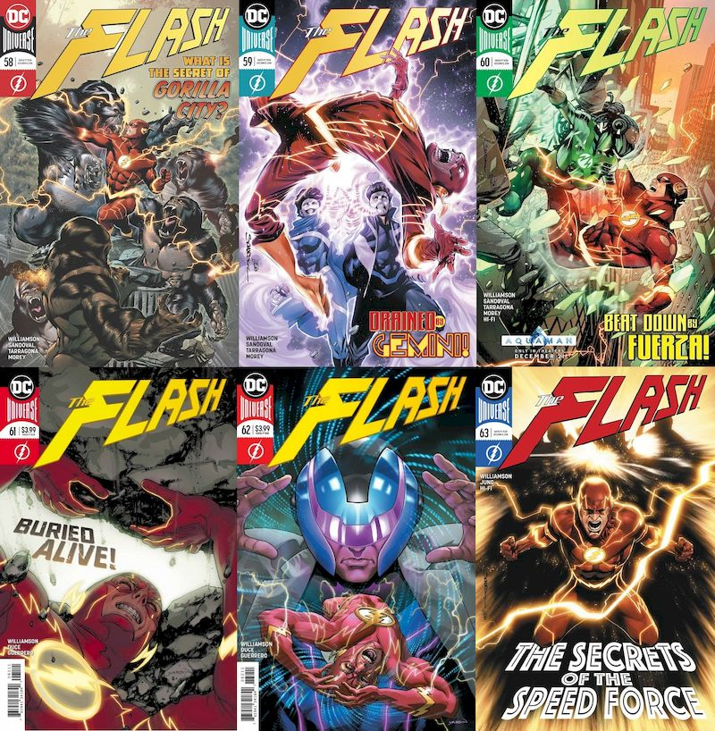 FLASH #58 - #63 SET - Force Quest (6 of 6)
