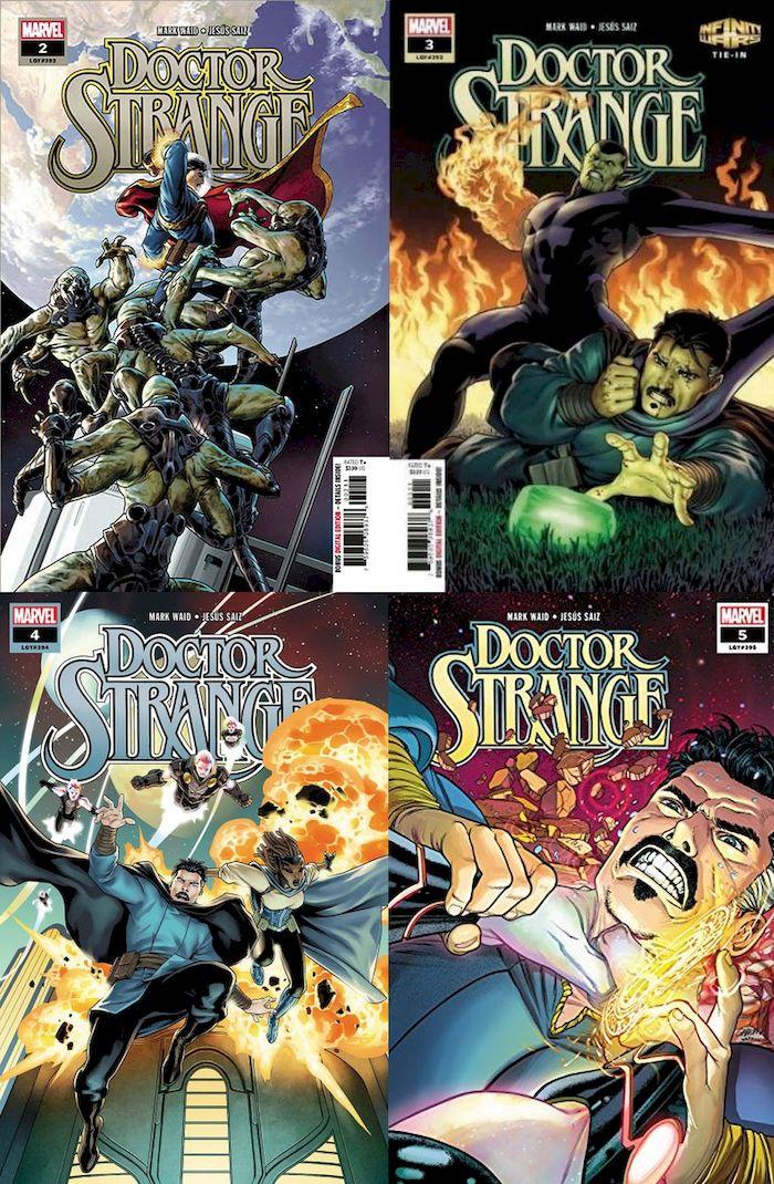 DOCTOR STRANGE (2018) #2 - #5 SET