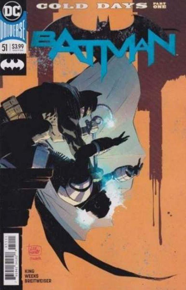 BATMAN #51 - #53 SET - Cold Days (3 of 3)
