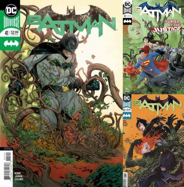 BATMAN #41 - #43 SET - Everyone Loves Ivy! (3 of 3)