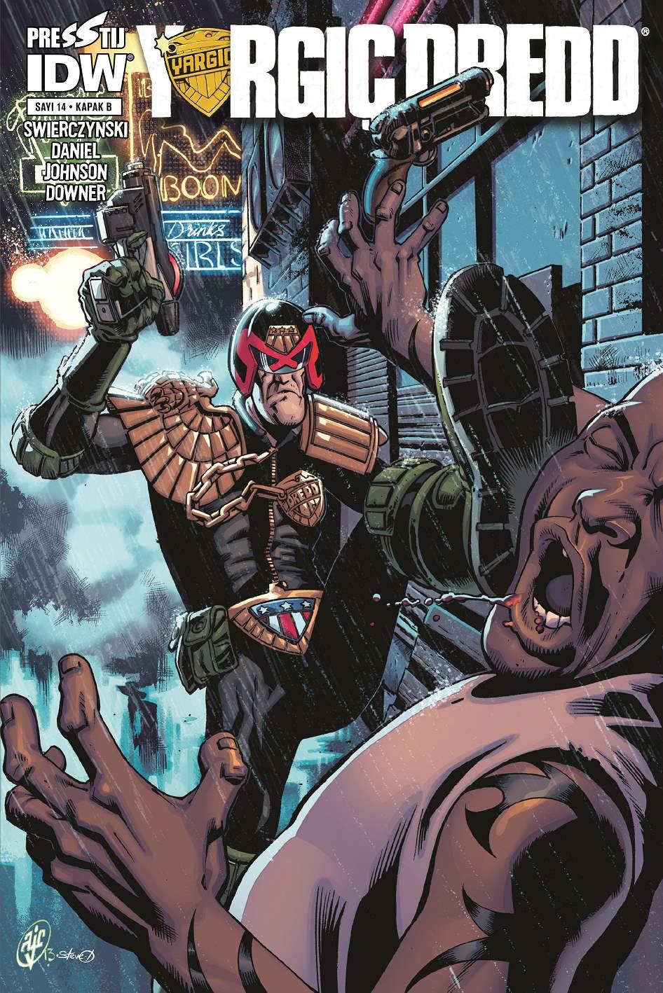 Yargıç Dredd Sayı 14 (Kapak B)