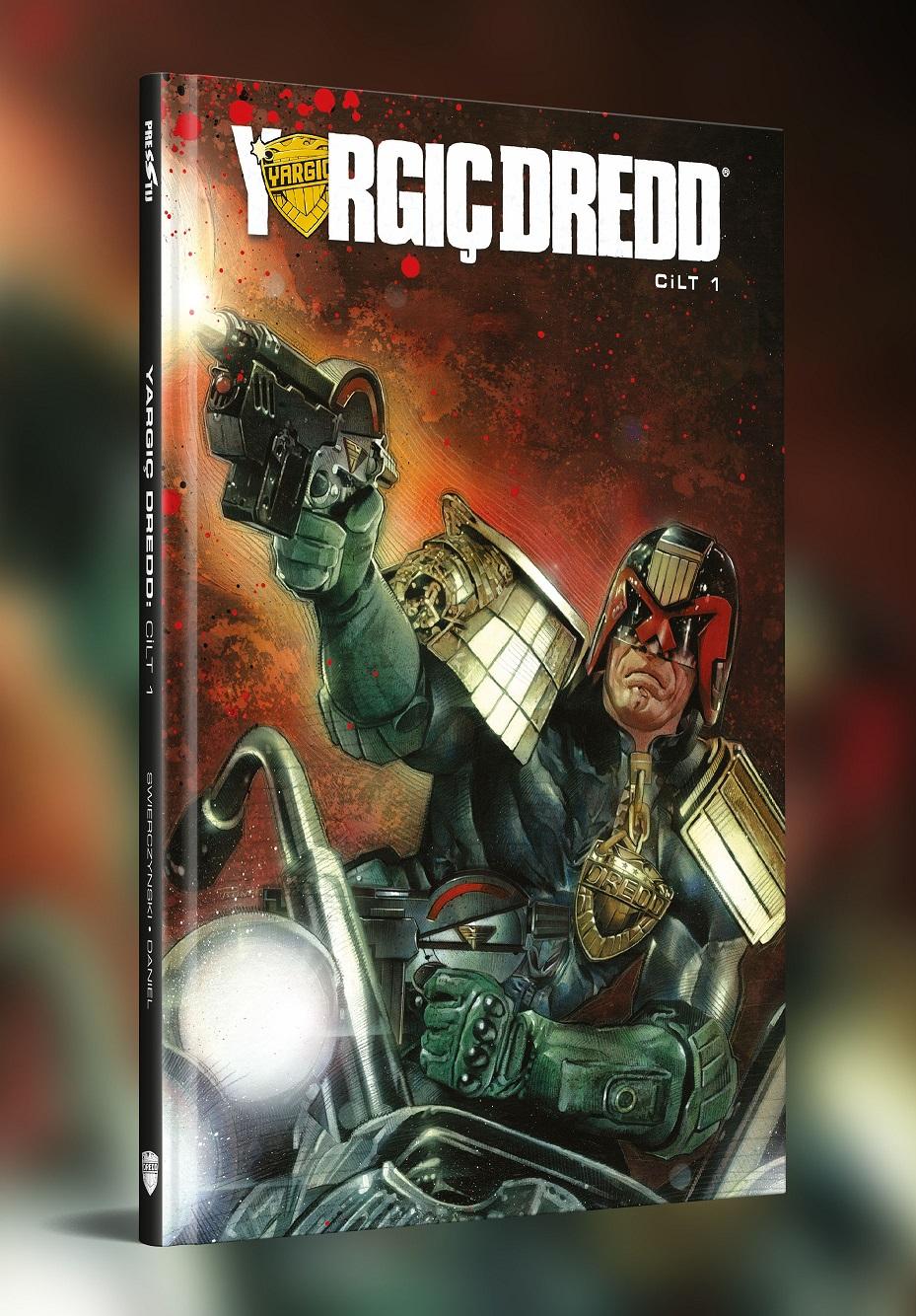 Yargıç Dredd Cilt 1 (İlk 6 Sayı Birarada / Sert Kapak)