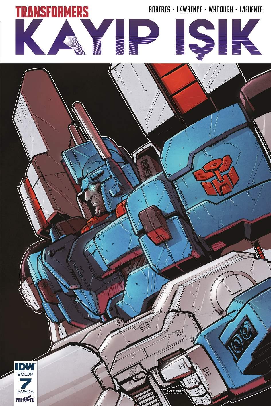 Transformers Kayıp ışık Bölüm 7 (Kapak A)