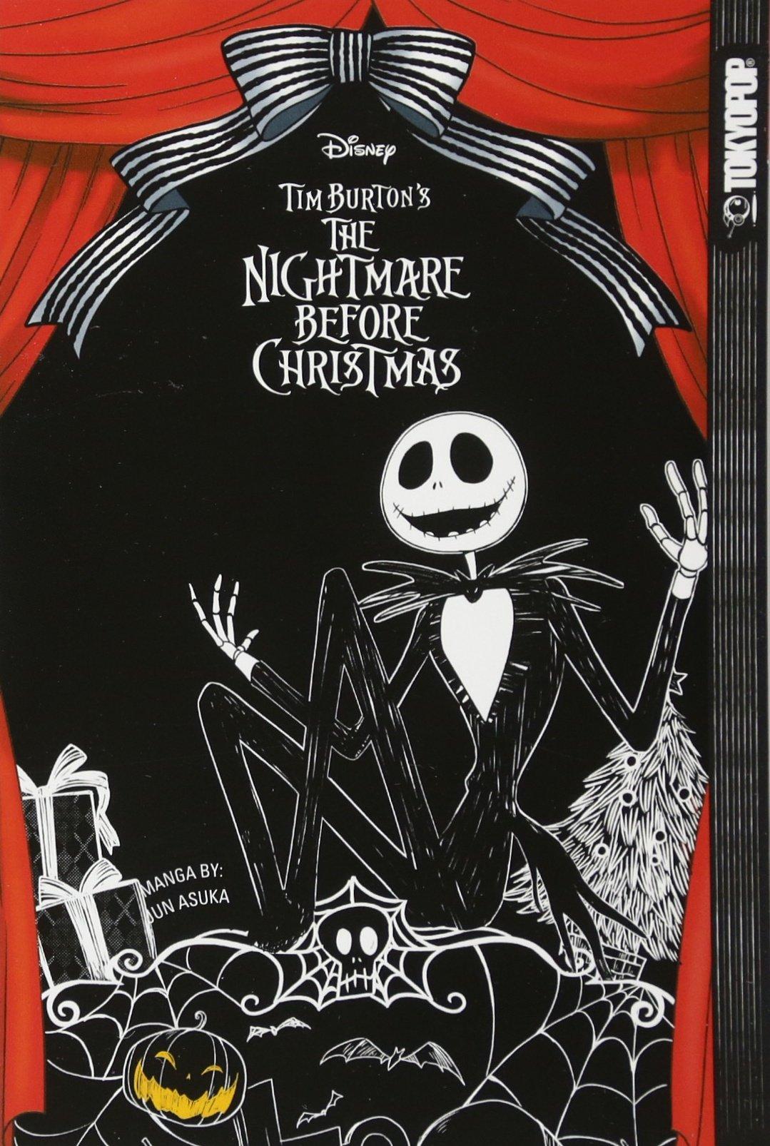 TIM BURTONS NIGHTMARE BEFORE CHRISTMAS MANGA - Softcover Edition