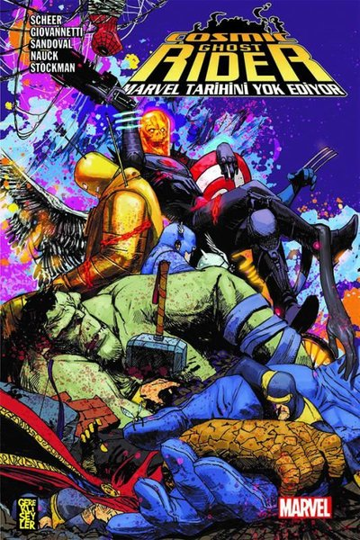 Cosmic Ghost Rider Marvel Tarihini Yok Ediyor