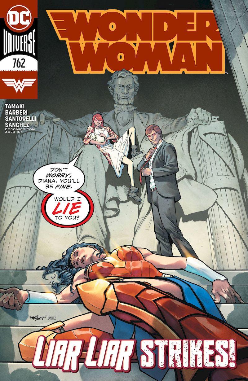 WONDER WOMAN #762 COVER A DAVID MARQUEZ