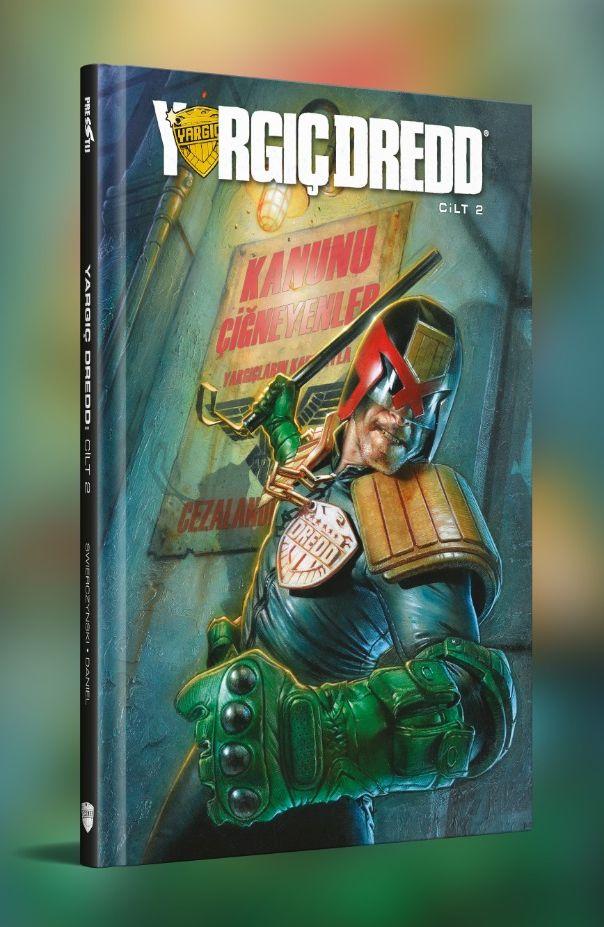 Yargıç Dredd Cilt 2 (7 - 12. Sayılar Birarada / Sert Kapak)
